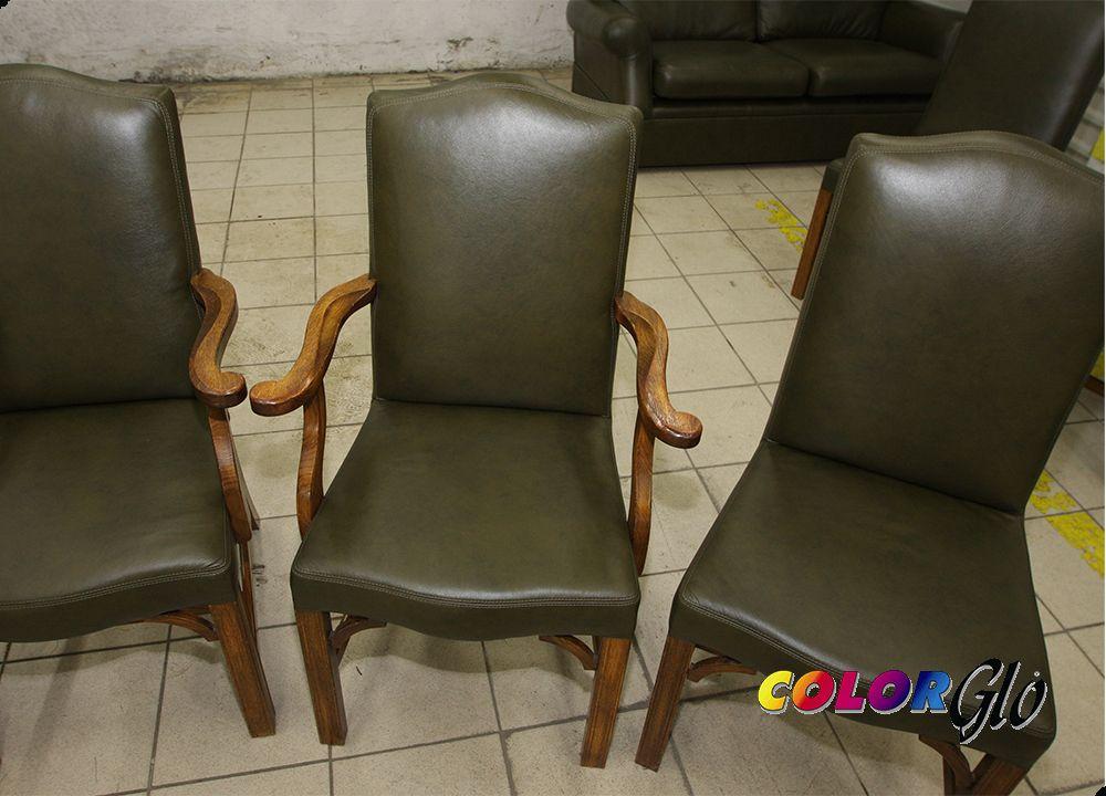 Перетяжка стульев кожзамом своими руками мастер класс 14